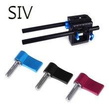 SIV Photography studio kits M6 Handle Screw Camera Universal Adjustable Clamp Locking Screws Adapter L Shape