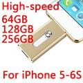 Rayo de alta Velocidad Otg Usb Flash Drive de 512 GB 1 TB 2 TB Para iphone 5/5s/5c/6 s/6 plus cle usb stick tarjeta de memoria pendrive de 64 gb 32 GB