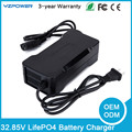 Universal Smart 32.85V 4A 4.5A LifePO4 Battery Charger With US EU UK AU Plug