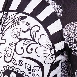 Image 4 - Bianco Del Cranio di Stampa di Sublimazione Ciclismo Jersey best 2019 Pro Poliestere Bike Wear Uomini di Estate Quick Dry Bicicletta Top Bicicletta Camicia
