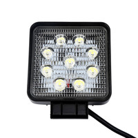 Kongyide 4x White 12V 9 LED DRL Round Daytime Running Light Car Bike Fog Day Driving Lamp Drop Shipping 2018 HOT NEW Oct6