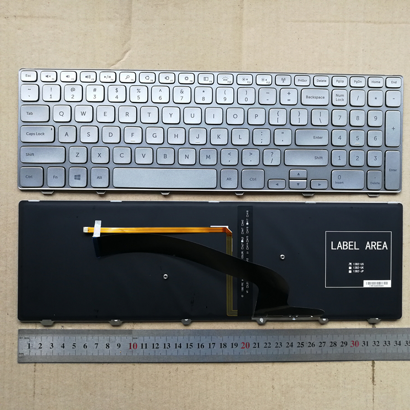 US Keyboard NEW DELL Inspiron 15 7000 Series 15 7537 P36F Series laptop backlit