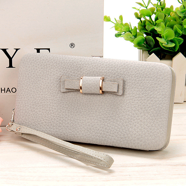 10 colors Purse wallet female famous brand card holders cellphone pocket gifts for women money bag clutch 888 5