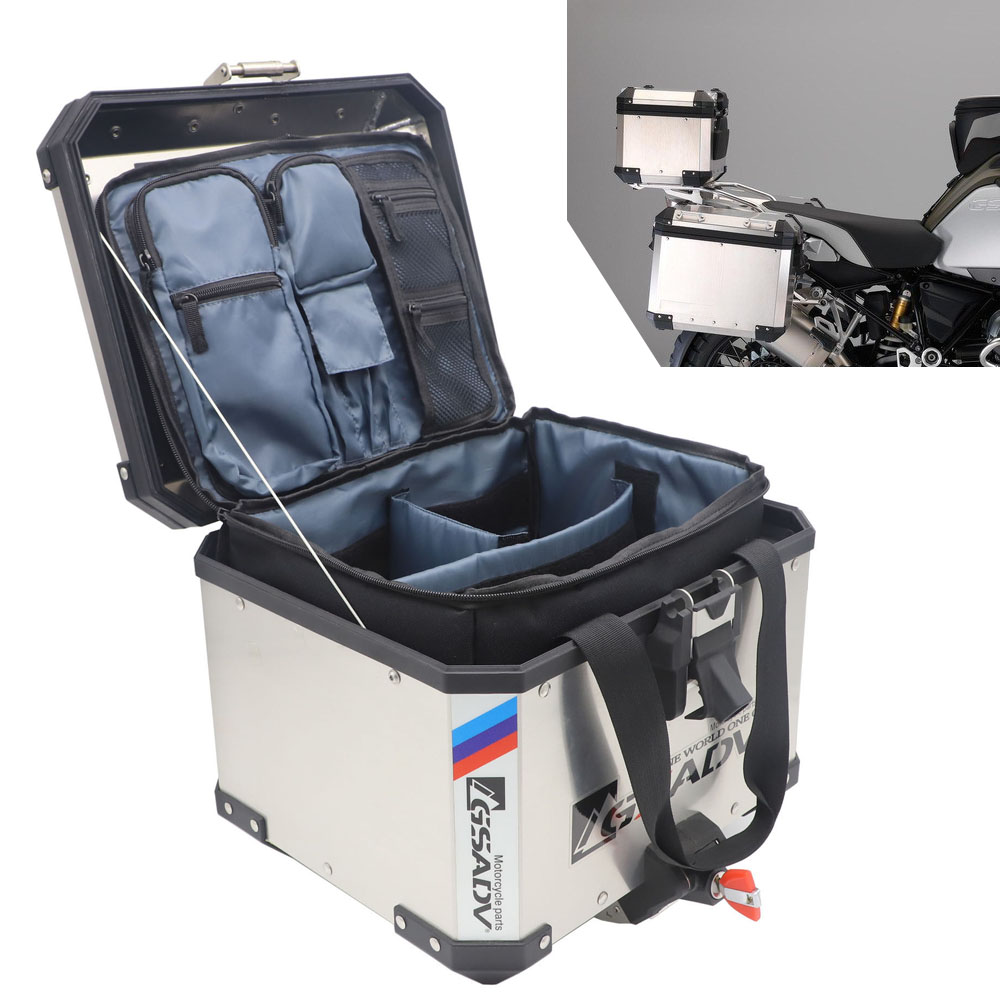 Tour Master Trunk Liner Bag Compatible for BMW GS 1200 Black//One Size