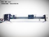 GPS T type Screw Linear Slide Stage X Y Z Axis Sliding Table Module Effective Stroke 200mm+ Nema17 Stepper Motor