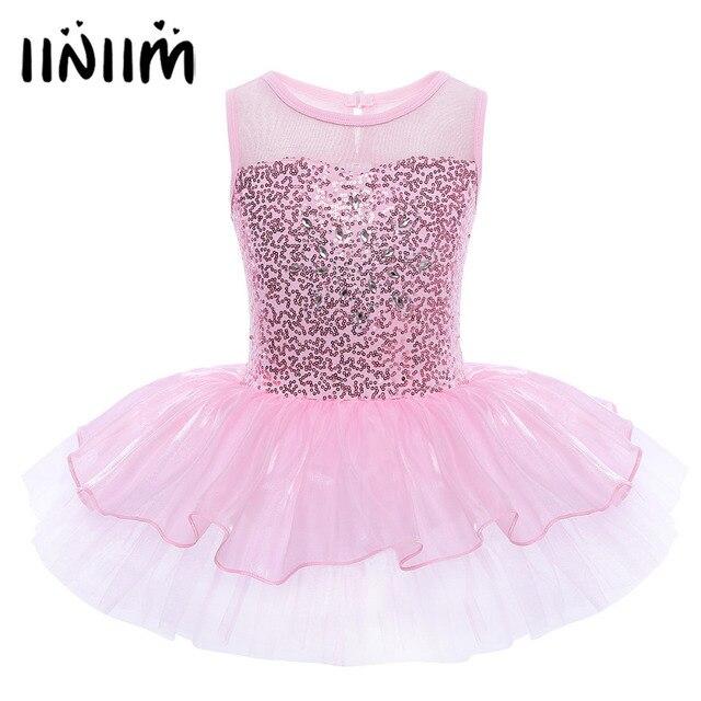 Балерина для девочек; костюм феи для выпускного вечера; детское платье с блестками и цветами; танцевальная одежда; гимнастическое трико; балетное платье-пачка для подростков