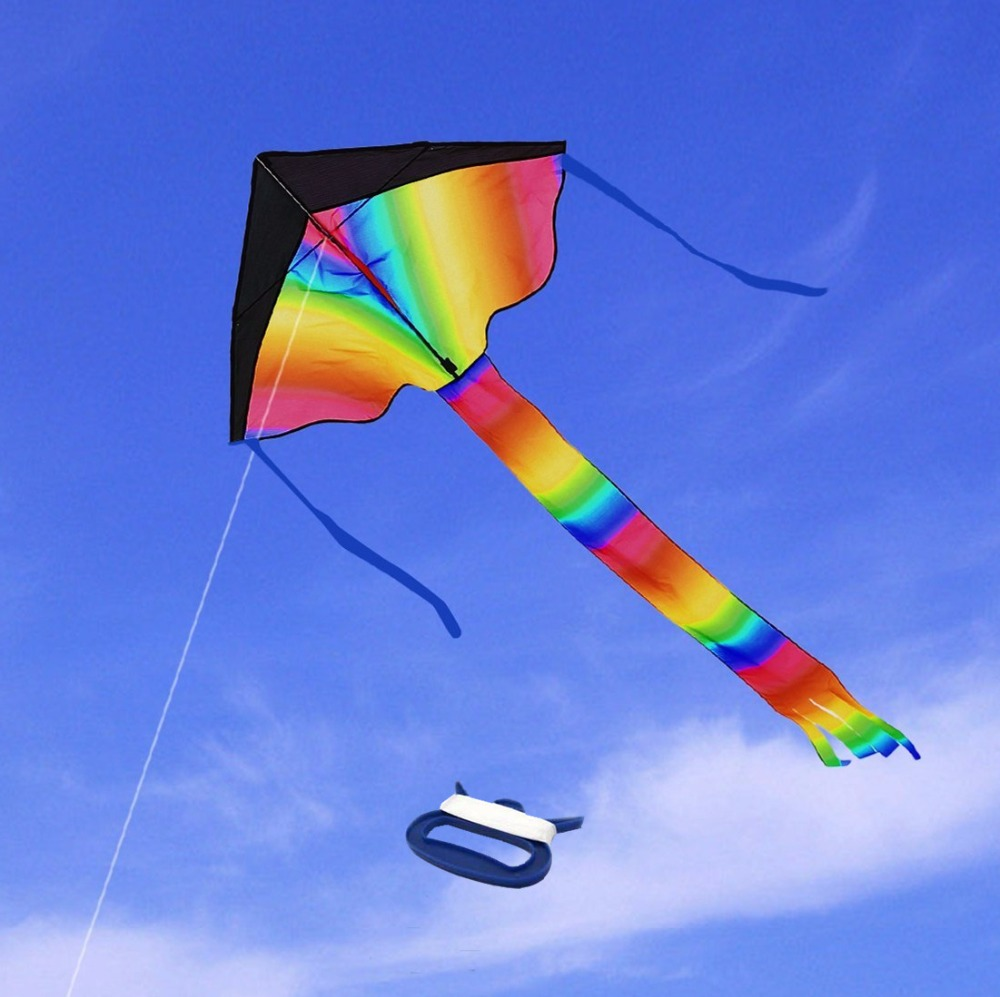 Image result for huge rainbow kite