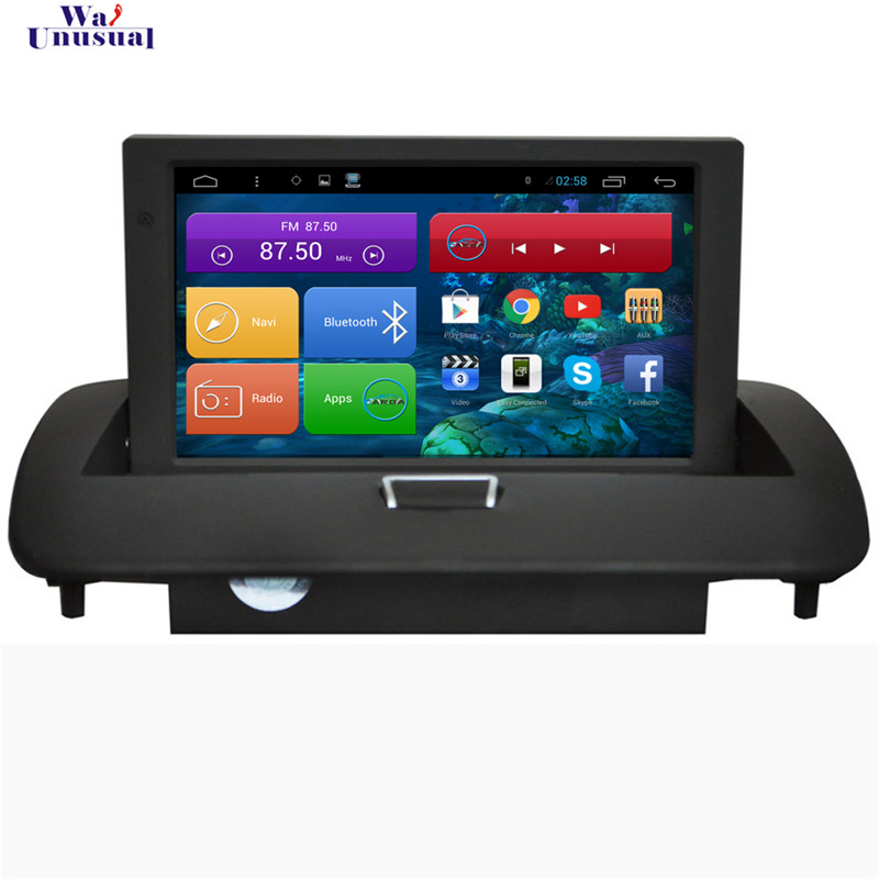WANUSUAL 8 Inch Quad Core Android 6.0 Car <font><b>Radio</b></font> Player for <font><b>Volvo</b></font> <font><b>S40</b></font> C40 2008 2009 2010 2011 2012 With GPS BT Wifi 1024*600 Maps image