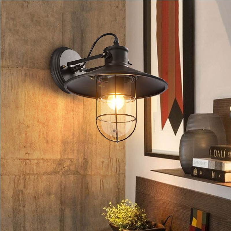 wall lamp Industrial Wall Home Lighting Vintage Fixtures Wall Lamps Bedroom Kitchen Wall light modern wall sconce light fixtures lustre home lighting k9 crystal wall lamp industrial lamps vintage