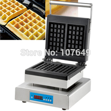 110V 220V Commercial Use Non-stick Electric Digital Belgian Waffle Maker Iron Machine Baker