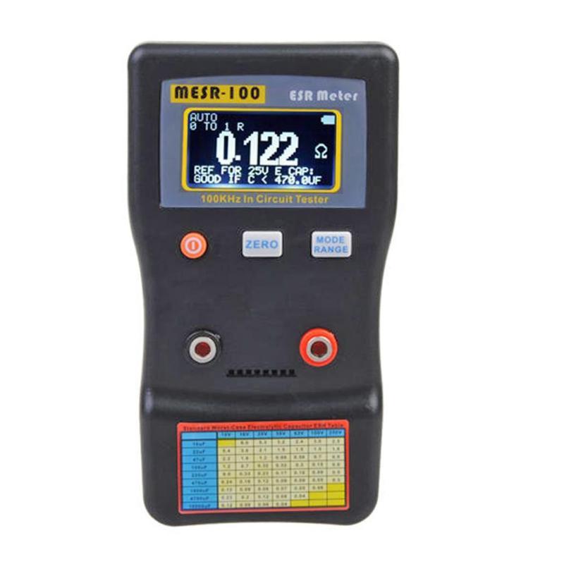 MESR-100 capacité Ohm mètre mesure résistance condensateur testeur de Circuit