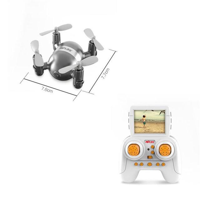 MJX X909T Adorável Mini RC Quadcopter 5.8 GHz 4CH 6 Eixos Giroscópio Com Câmera Em Tempo Real Transmissão Helicóptero RTF Zangão preto