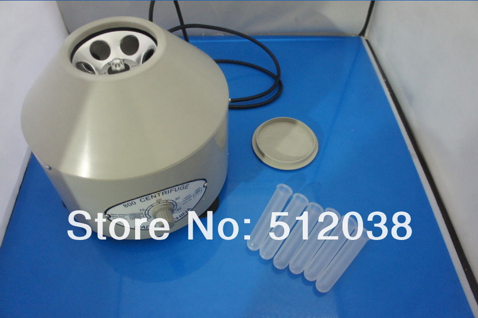 800 Laboratory Lab Electric Centrifuge Medical Practice 4000RPM 110V electric lab centrifuge laboratory medical practice supplies 4000 rpm 20 ml x 6 1790 g