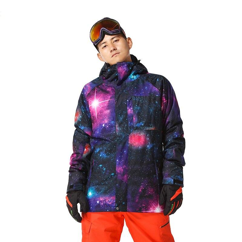 New Winter Windbreaker Waterproof Outdoor Sport Ski Snowboard Snow Jacket Men Casaco Masculino Skiing Snowboarding Padded Coat