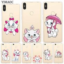 YIMAOC The cartoon AristoCats Marie Cat Case for Xiaomi Mi 9 9T CC9 CC9E A3 Pro 8 SE A2 Lite A1 MiX 2S MAX 3 pocophone f1 MI9