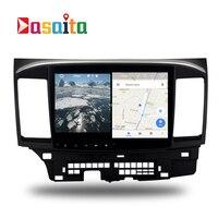 รถยนต์Android 7.1 GPS N Aviสำหรับมิตซูบิชิแลน