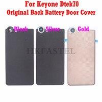 HKFASTEL Dtek 70 Housing For BlackBerry Keyone Dtek70 Original Mobile Phone Back battery Door Cover case Free shipping