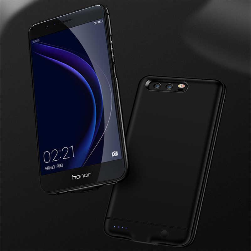 Чехол для Huawei Honor 8, 6000 мАч, металлический каркас, запасное зарядное устройство, чехол для телефона, чехол для Huawei Honor 8, чехол для аккумулятора