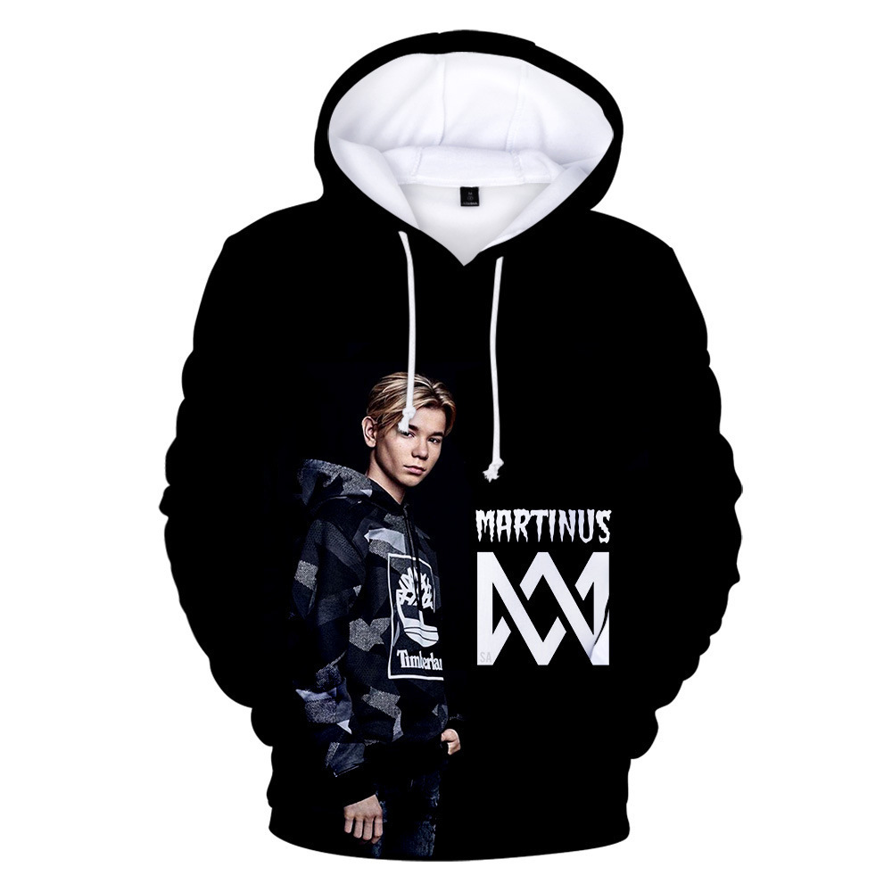 Marcus And Martinus 3D Print Graphic Hoodies Men And Women Winter Hip Hop Streetwear Funny Hooded Sweatshirt For Couples Clothes