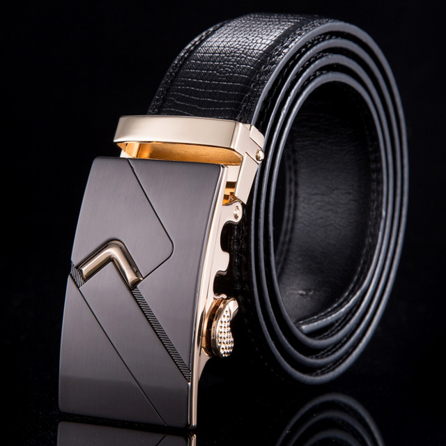 2015 Fashion men belts designers luxury automatic buckle belt brand top quality genuine leather ceintures homme WN030