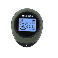 Mini GPS Receiver&Location Reliable Tracker USB Rechargeable Real Time Tracking Device with Navigation Positioning Compass