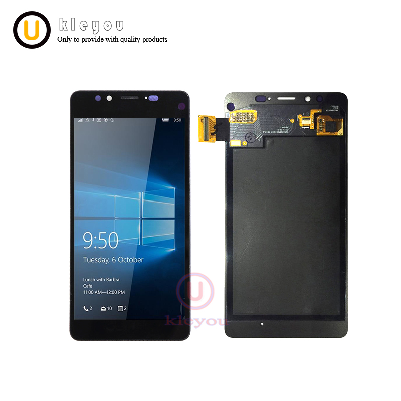 "Tested For 5.2"" Microsoft Nokia Lumia 950 LCD Display Touch Screen Digitizer Assembly Replacement With Frame For Nokia 950 LCD"