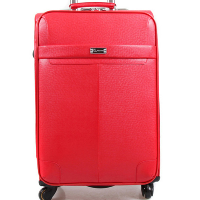 BOLO BRAVE Candy Цвета/чемодан в деловом стиле/багажная сумка/посадочный Дорожный чемодан тележка 22 24 дюймов 5 вариантов цветов pu кожаные сумки