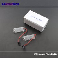 Liandlee For Mazda Mariner / Tribute 2007~2012 / LED Car License Plate Light / Number Frame Lamp / High Quality LED Lights