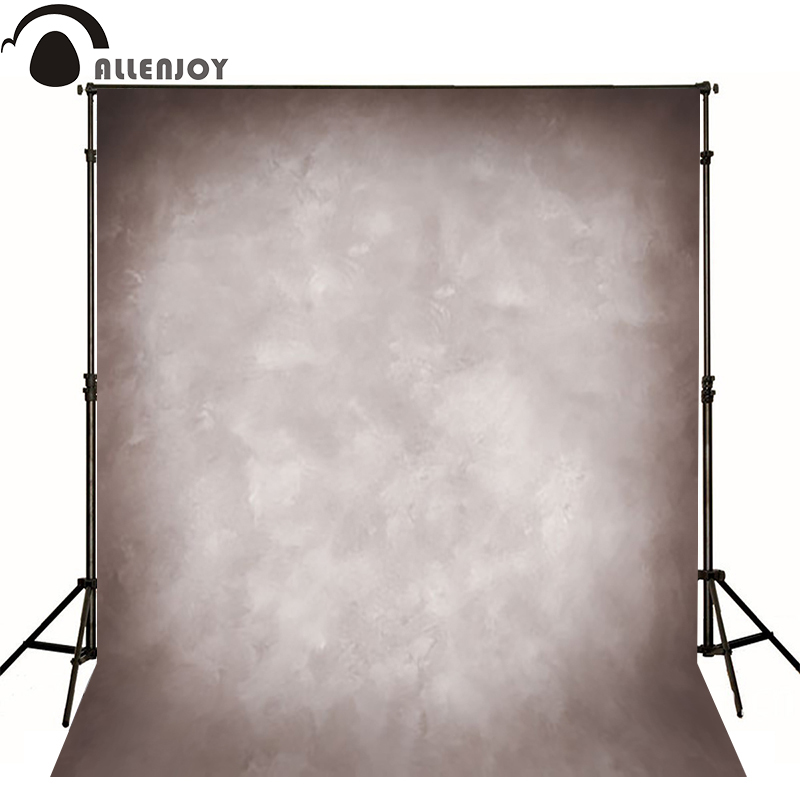 Allenjoy Thin Vinyl cloth photography Backdrop gray Background For Studio Photo Pure Color photocall Wedding backdrop MH-036