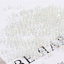 10g/Pack Multi sizes Bubble ball Glass Beads material epoxy mold makeing jewelry filling for DIY Slime Decor Accessories