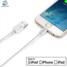 OUZIFISH 2 m 1 m Usb-кабель для iPhone 5 6 7 iPad iPod 2.1A Быстрый Мобильный Телефон Молния в USB Зарядное Устройство Кабель для Передачи Данных Для iPhone кабель