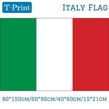 90*150 см/60*90 см/40*60 см/15*21 см флаг Италии для Национального олимпийского дня Кубка мира