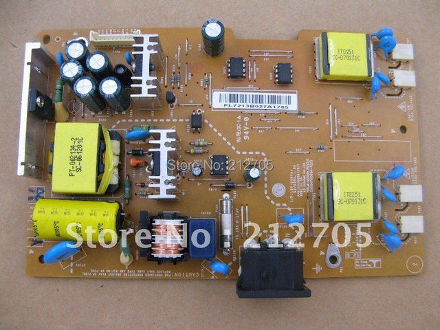 for lg 19 lcd monitor power supply board yplm m006a caps replaced rh aliexpress com