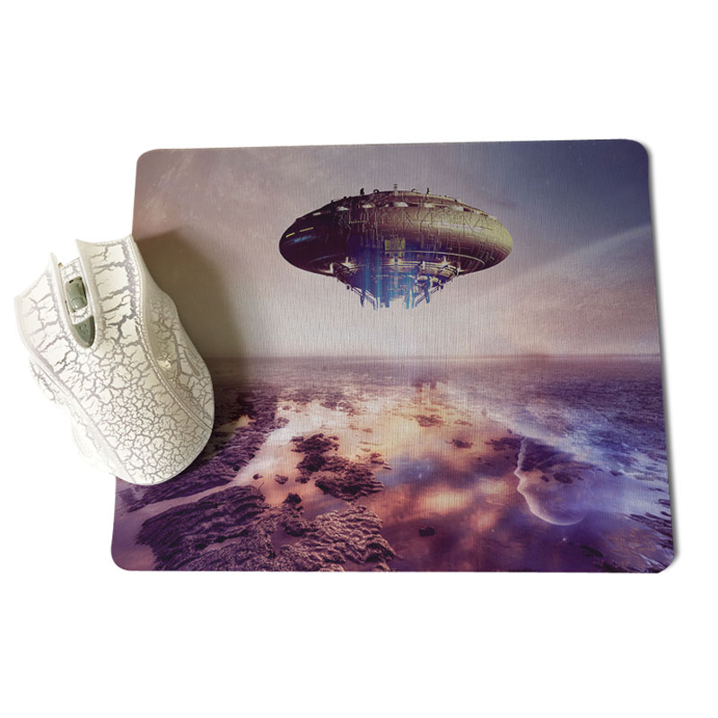 MaiYaCa The future of extraterrestrial life gamer play mats Mousepad Size for 18x22x0.2cm Gaming Mousepads