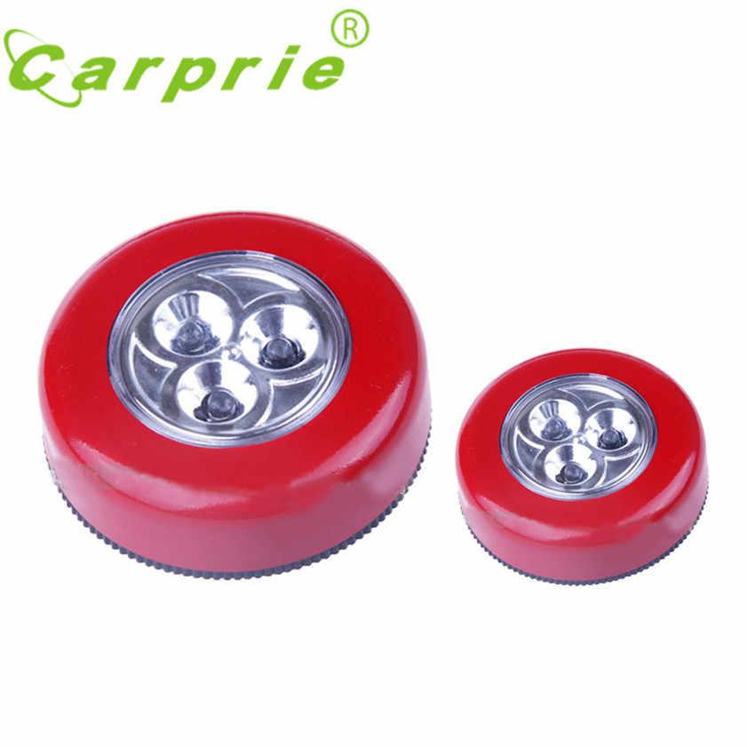 Супер светодиодный 3 светодиодный настенный светильник кухня шкаф освещение стикеры коснитесь Touch Настенные светильники дропшиппинг