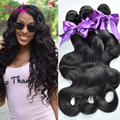 7A Wholesale Brazilian Virgin Hair Body Wave 3 Bundles Brazilian Hair Weave Bundles Cheap Human Hair Extension Body Wave Weave