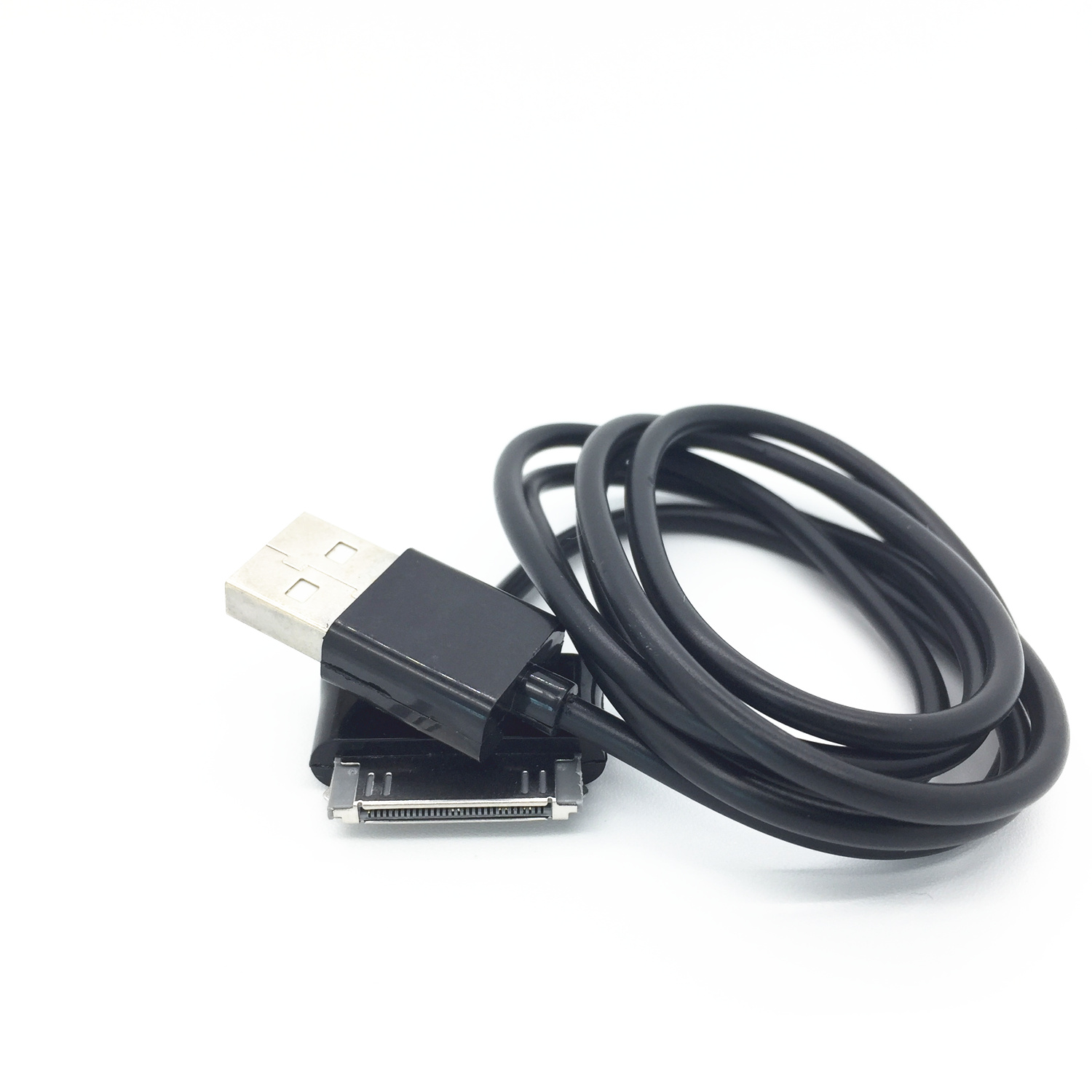30PIN Usb Wall Charger Data Black Cable For Samsung Galaxy P739 P7300 P7310 P7510 Etc