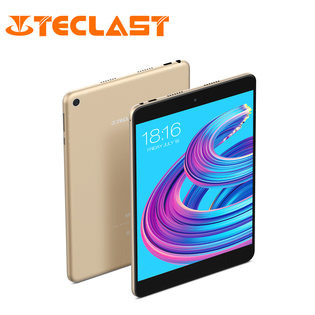 Teclast M89 Pro планшетный ПК 10 ядерный 2,1 ГГц обновленный 3 ГБ + 32 ГБ 7,9 дюйма Android 7,0 MTK Helio X27 (MT6797) OTG двойной WiFi HDMI type-C