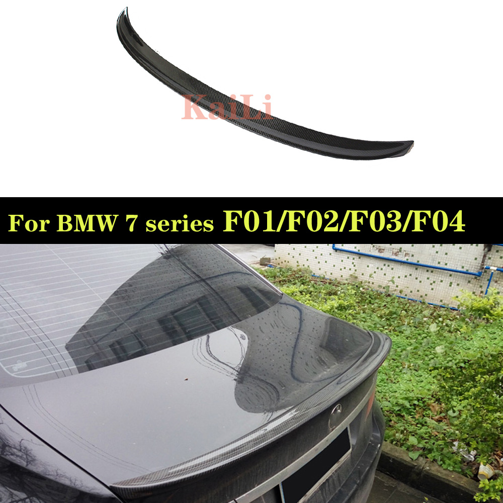 For BMW 7 Series F01 F02 F03 F04 Rear Trunk Spoiler Wing Tail Lip Sedan 750i 760i  2010 - 2015For BMW 7 Series F01 F02 F03 F04 Rear Trunk Spoiler Wing Tail Lip Sedan 750i 760i  2010 - 2015