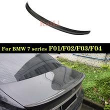 For BMW 7 Series F01 F02 F03 F04 Rear Trunk Spoiler Wing Tail Lip Sedan 750i 760i  2010 - 2015