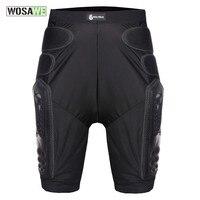 WOSAWE motorcycle shorts Motorcross Off-Road MTB Bike Skateboard Skating Ski Hockey Armor Shorts Protective Gear Hip Pads shorts