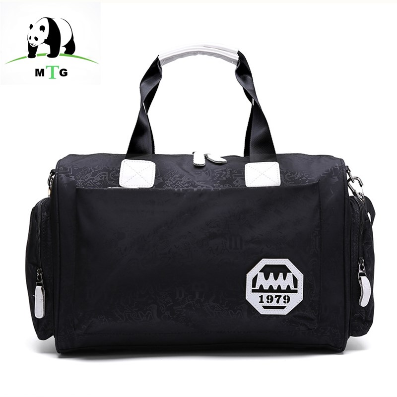 MTG Mens Travel Bags Tote Shoulder Travel Bag Portable Men Handbag Big Weekend Bag Women ...