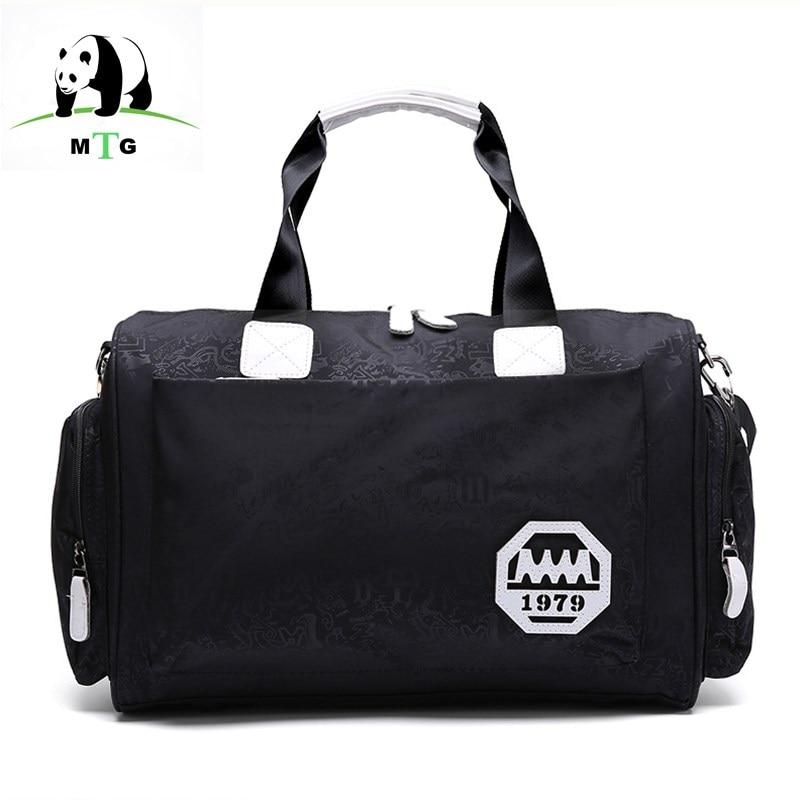 MTG Mens Travel Bags Tote Shoulder Travel Bag Portable Men Handbag Big Weekend Bag Women Waterproof nylon Weekend Bag Overnight
