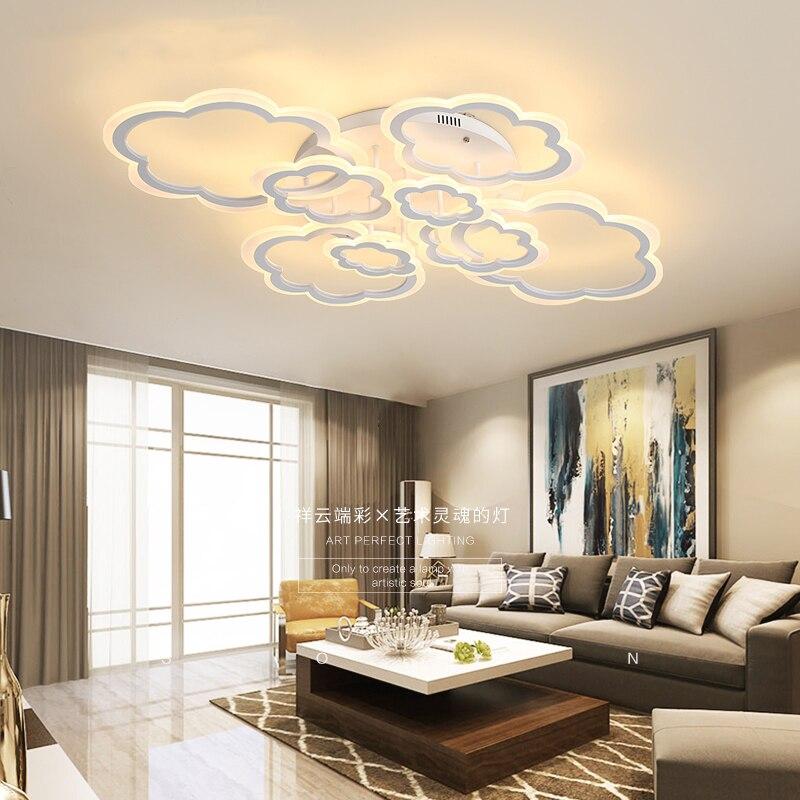 Rectangle Acrylic  Modern Led ceiling lights for living room bedroom AC85-265V White Ceiling Lamp FixturesRectangle Acrylic  Modern Led ceiling lights for living room bedroom AC85-265V White Ceiling Lamp Fixtures