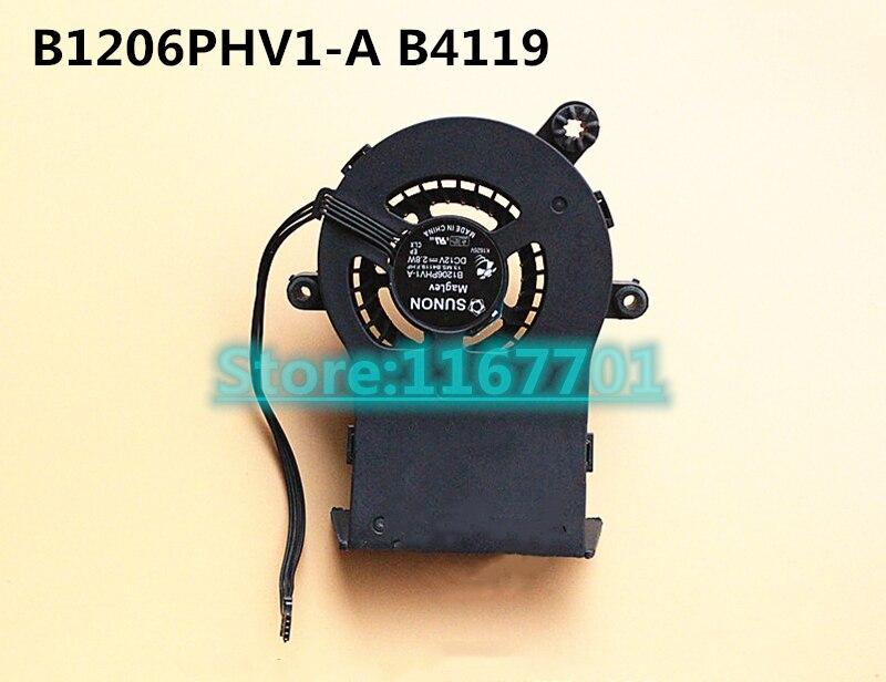 Nouveau ventilateur de refroidissement d'origine pour ordinateur portable CPU HDD pour Apple imac 21.5 pouces A1311 610-0032 069-3694 B1206PHV1-A 13. MS. B4119.F. H