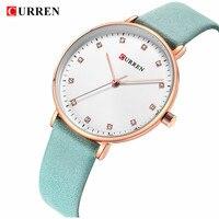 Curren Brand Luxury Black L Bracelet Style Women Quartz Watch Fashion Dress Ladies Watches Gifts Relogio Feminino