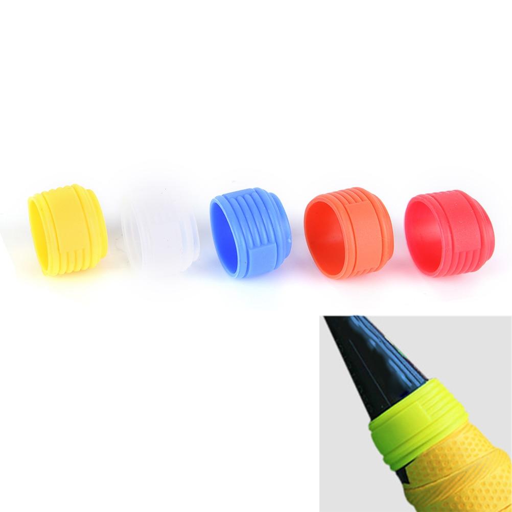 1 Pc Racchetta Da Tennis Maniglia Anello Di Silicone Delle Tenis Racchetta Overgrip Utilizzare Wrap Vari Colori