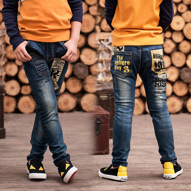 d7a3a16dc0 2019 New Boy s jeans year boys pants fit for Spring and autumn baby boys  jeans children trousers