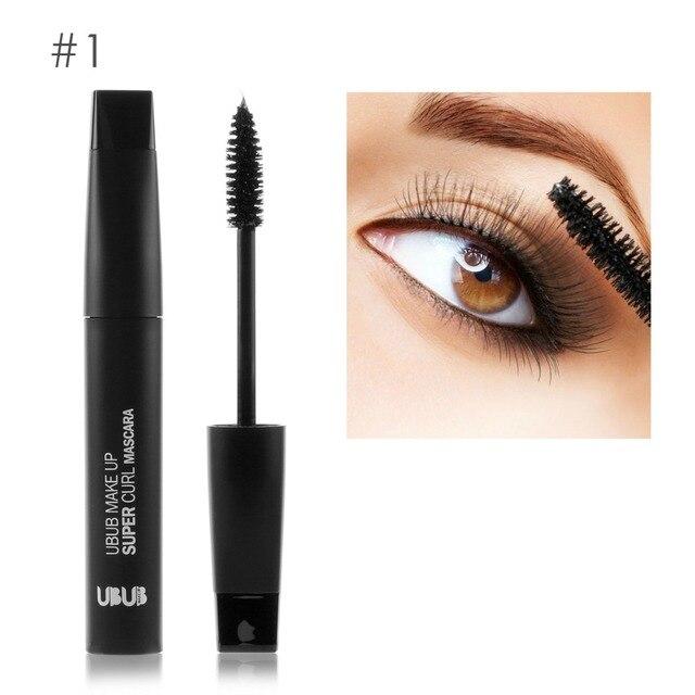 436b6eef600 UBUB eye makeup black mascara waterproof curling Thick mascara for 3D fiber eyelashes  quick dry mascara