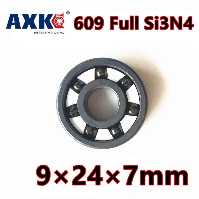 609 ZrO2 Ball Bearing  9*24*7mm 609 Full Ceramic 609zz 609 2RS  609 Si3N4  bearing steel hybrid ceramic ball bearings 609 2rs full si3n4 ceramic deep groove ball bearing 9x24x7mm 609 2rs seal